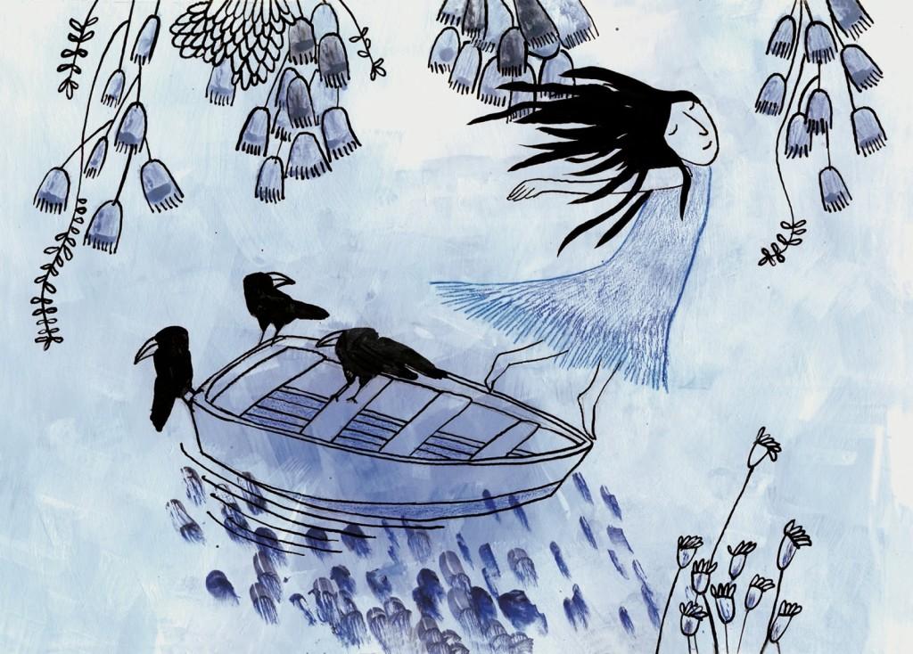 atrapalabras ilustracion